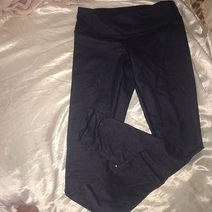 Size 4 lululemon leggings-dark blue